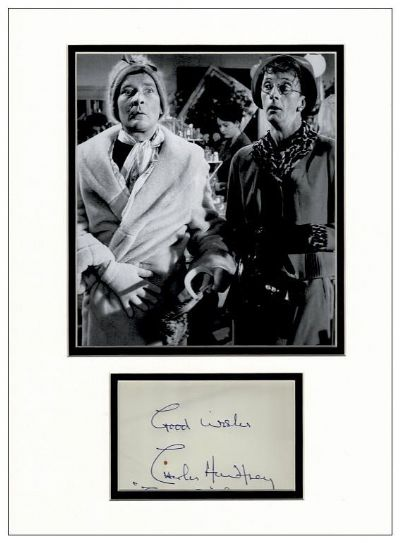 Charles Hawtrey Autograph Display - Carry On